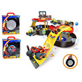 Toy Car Monster Truck Mobile Tyre Flame Monster Machines Two Scooter Parking Lot New