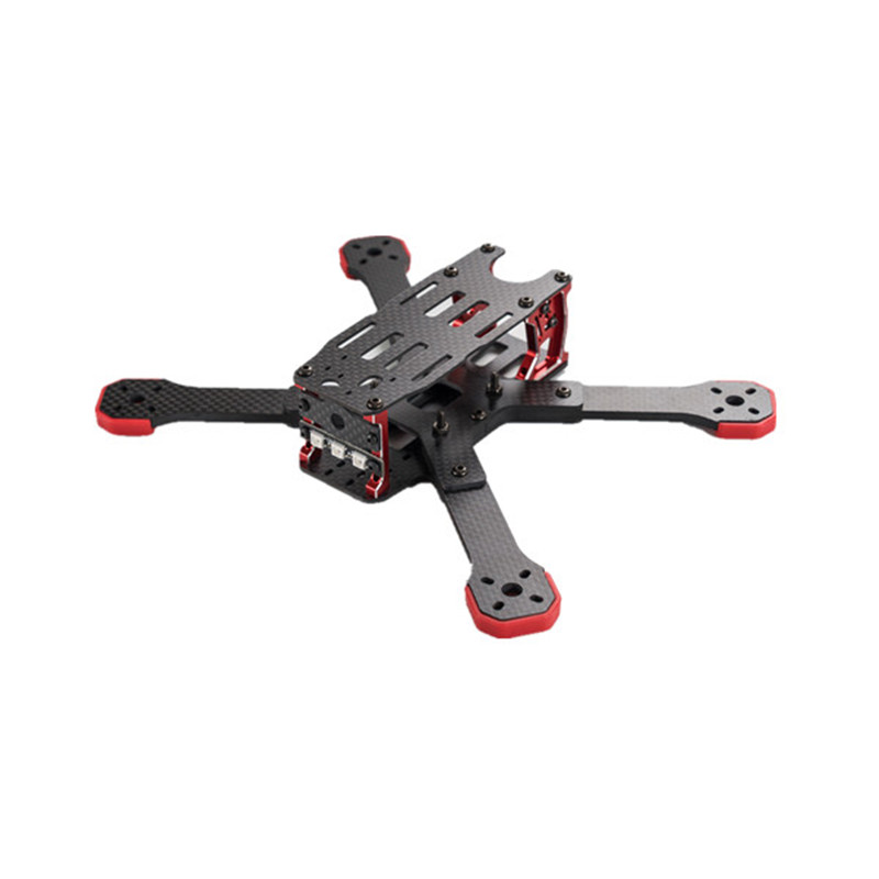 2017 Newest TransTEC Freedom 215mm 4mm 3K Carbon Fiber Frame Kit for Multirotor FPV RC Racing Racer DIY Drone Quadcopter Body