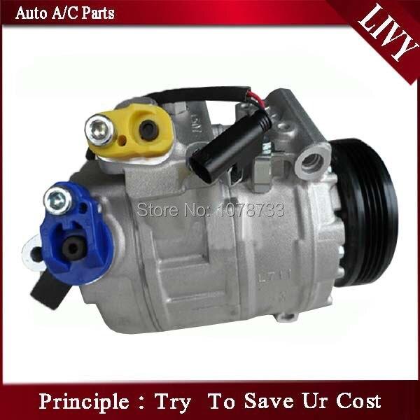 Хорошее качество Автомобильный Компрессор кондиционера для E60 5.2D 2009 64526917895
