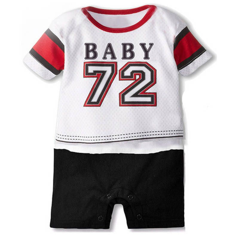 Summer Baby Girl Clothes Ropa Bebe Cotton Short Sleeve Baby sportswear Kids Costume Toddler Jumpsuit Infant clothes Newborn