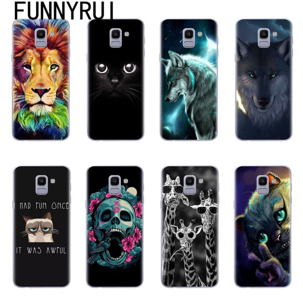 768c50fa2a For Samsung Galaxy J6 Case Samsung J6 2018 Case Soft Tpu Cover Phone Case  For Samsung Galaxy J6 J600 J600F J600F/DS Case Silicon