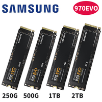 SAMSUNG 970 EVO 970EVO 250GB 500GB 1TB NVMe M.2 SSD PCIe 3.0x4 PC Desktop Laptop Server Internal Solid State Dribe 250G 500G