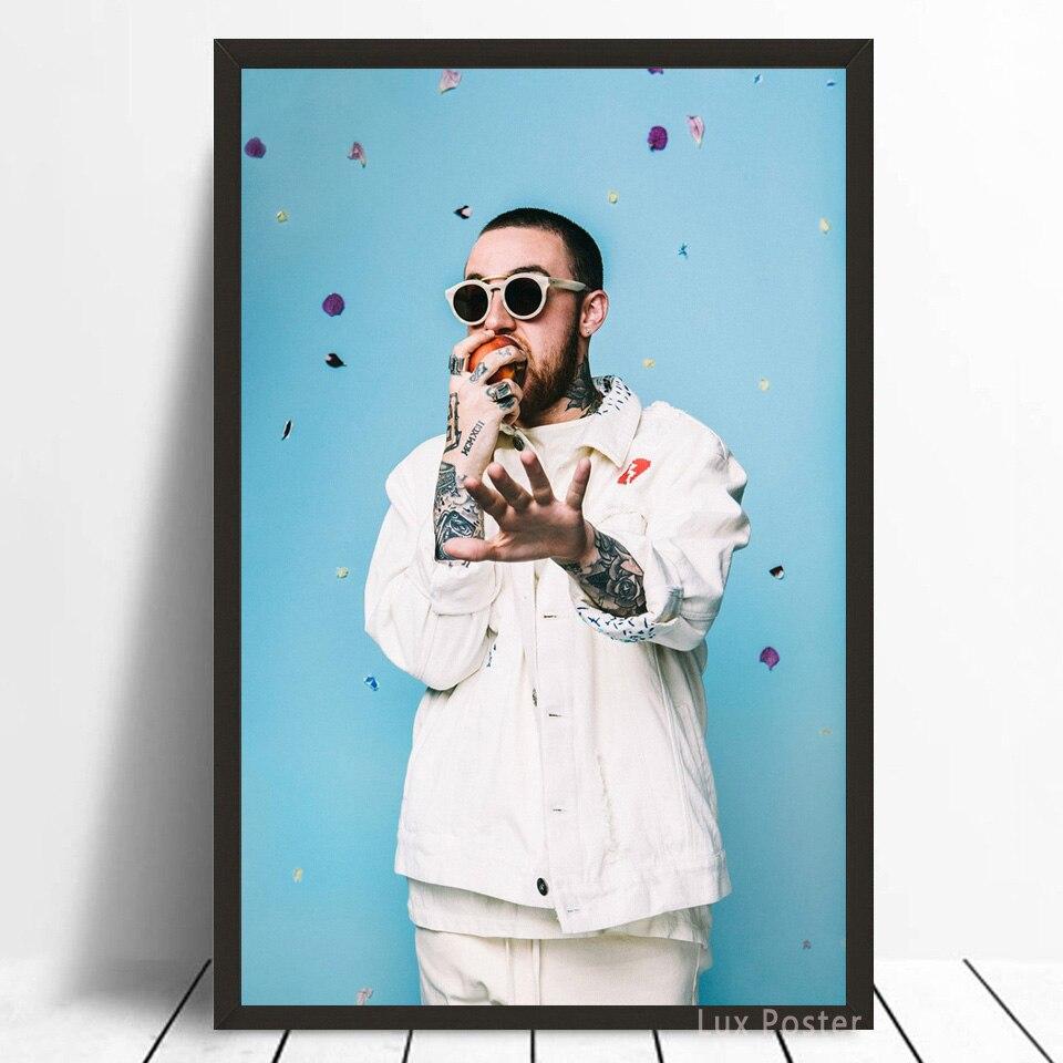 Mac Miller Rapper Rap Music Singer Art Silk Poster Hot Gift ART ART Decor Print