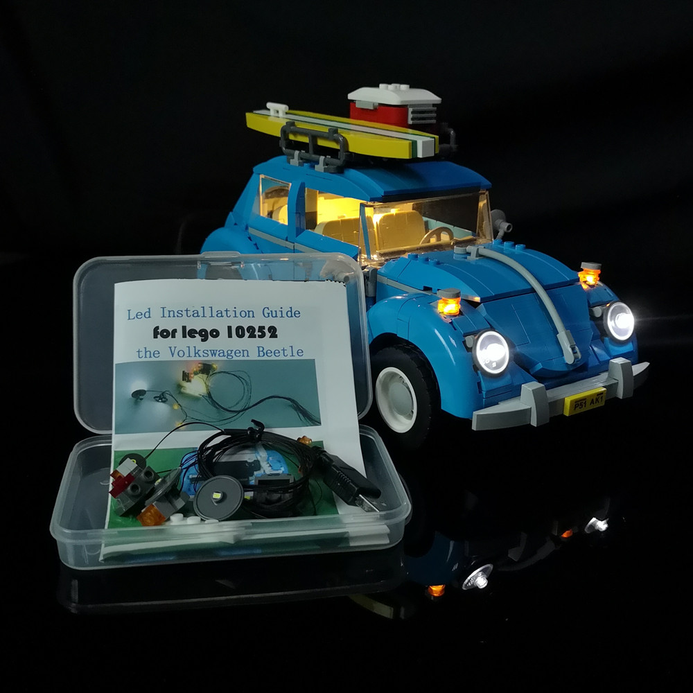 Led Light Kit For Lego  The Beetle Model Building Set Compatible With 10252 And 21003 (NOT Include The Model)