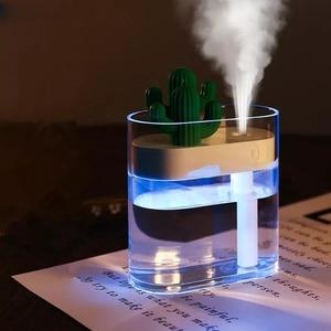 Youpin Sothing 319 чистый кактус ультразвуковой увлажнитель воздуха 160 мл цветной свет USB очиститель воздуха распылитель воды анион тумана