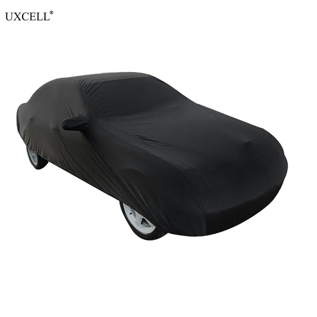 Uxcell Universal Black Waterproof Full Car Covers Snow Ice Dust Sun UV Protection Outdoor Protector COVERS For CarUxcell Universal Black Waterproof Full Car Covers Snow Ice Dust Sun UV Protection Outdoor Protector COVERS For Car