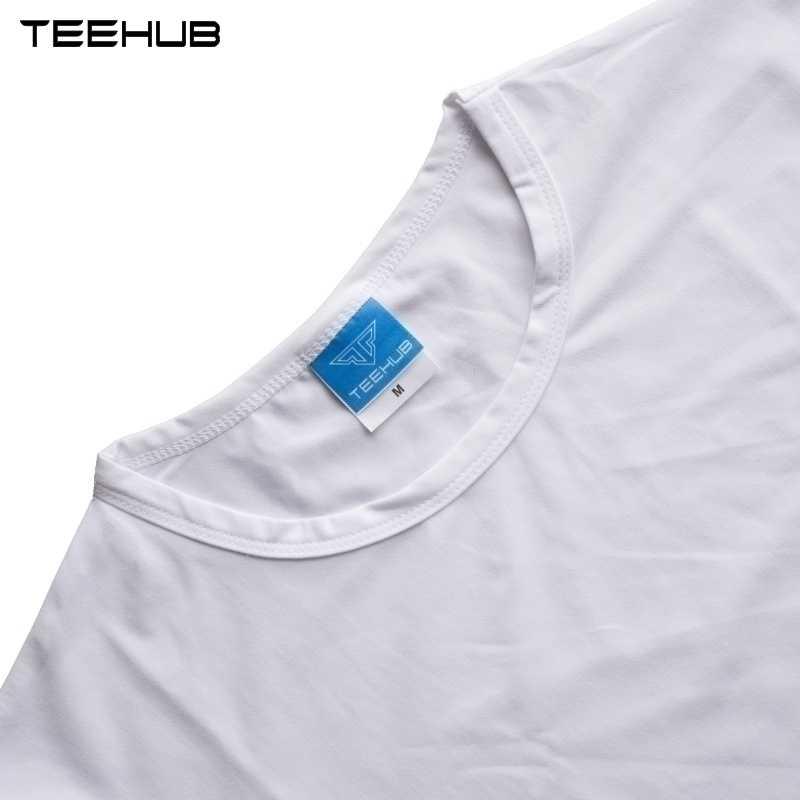 Новые поступления 2019 teehub крутая Мужская мода человека и животных дизайн футболка с коротким рукавом o-образным вырезом Топы хипстерская безрукавка