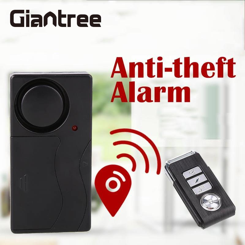 giantree 433MHZ Home Office Security System Door/Window Detector Burglar Alarm ABS Wireless Remote Control Sensor high quality hot sale 100db wireless alarm system burglar safely security window door home magnetic sensor best promotion