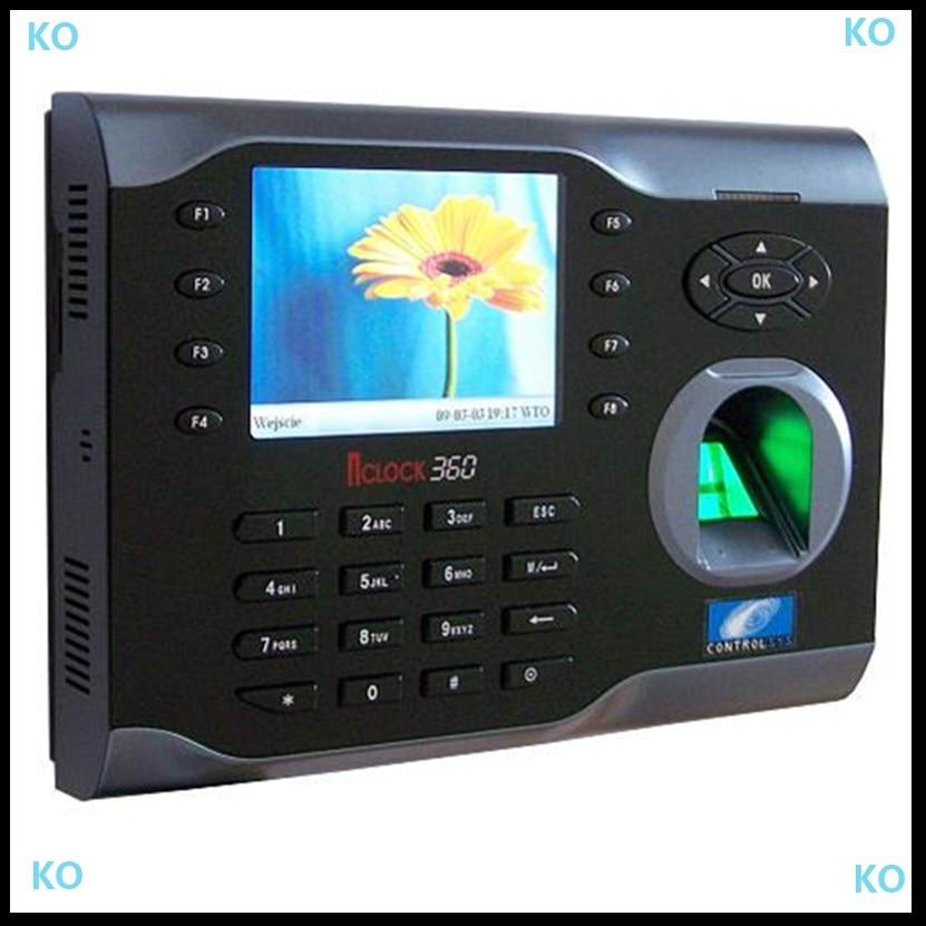 Tcp/ip Biometrische 8000 Benutzer Fingerabdruck Attendanc Recorder Mit T9 Inpute Iclock360 Zkteco Software Biometrische Time Clock Volumen Groß Ip-gesichtserkennungsgerät