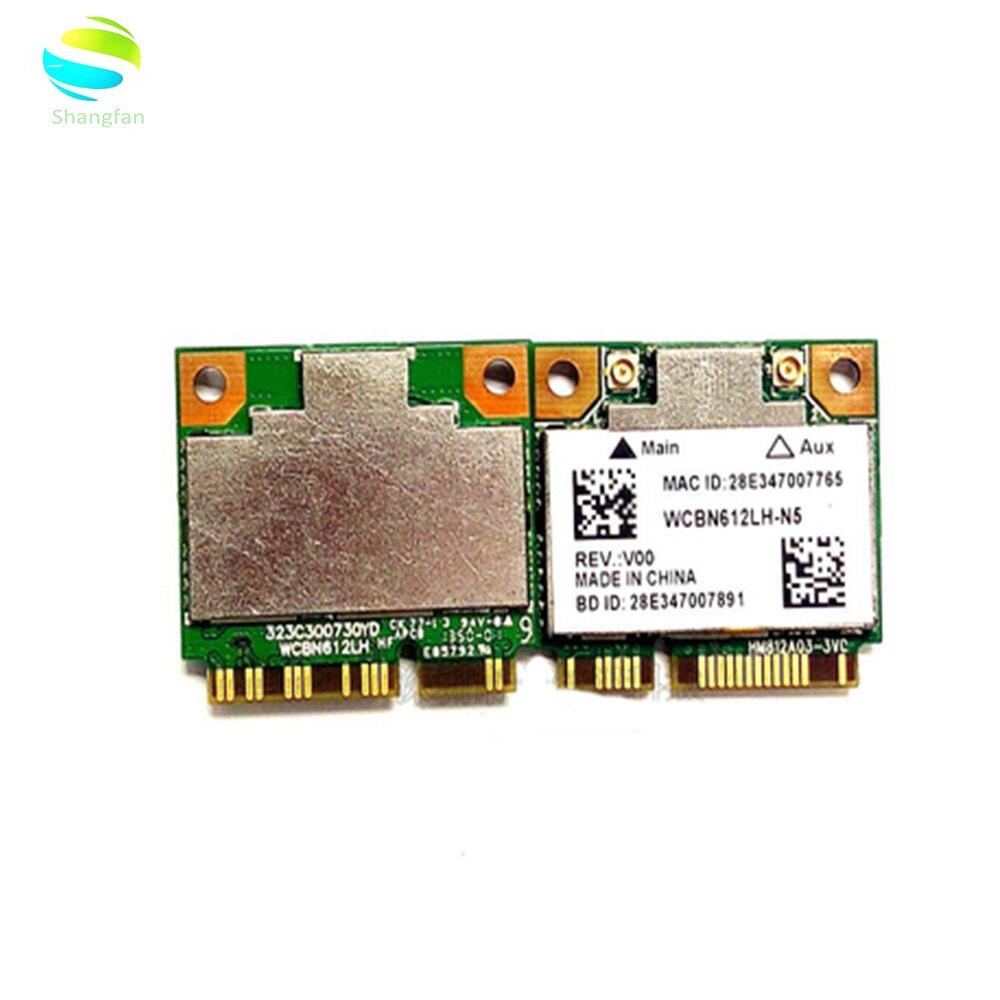 Wi-fi Adaptador de Cartão para AzureWave RTL8812AE RTL8812 802.11AC 2.4Ghz/5Ghz MINI-PCI-E Wi-fi Sem Fio Bluetooth 4.0 cartão 433Mbps