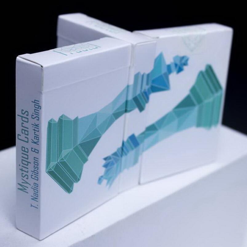 1 Deck cristalus cartes à jouer vélo Poker pont magique tours de magie enfants jeux pour adultes USPCC