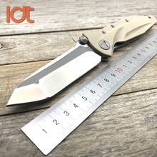 LDT Delta For Folding Knife D2 Blade G10 Handle Tactical Pocket Knives Camping Hunting Ball Bearing Survival Knife EDC Tools sanrenmu s611 fixed knife 8cr14mov blade g10 handle outdoor camping survival tactical hunting knife multi tool bushcraft knives