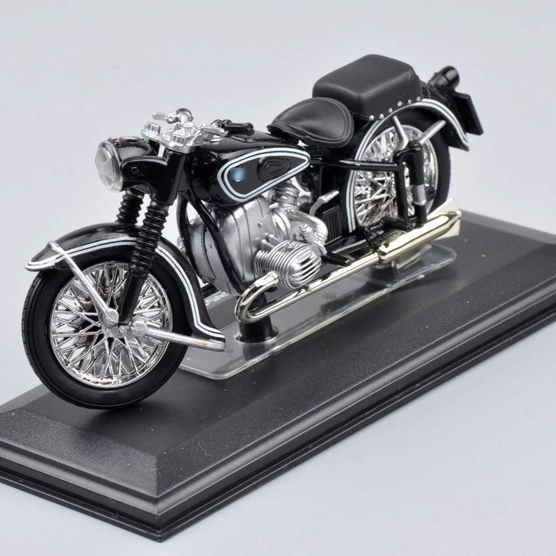 Diecast Motorcycle Model Toys 1 22 Scale Black Motorbike Kids Best Christmas Gifts Collections