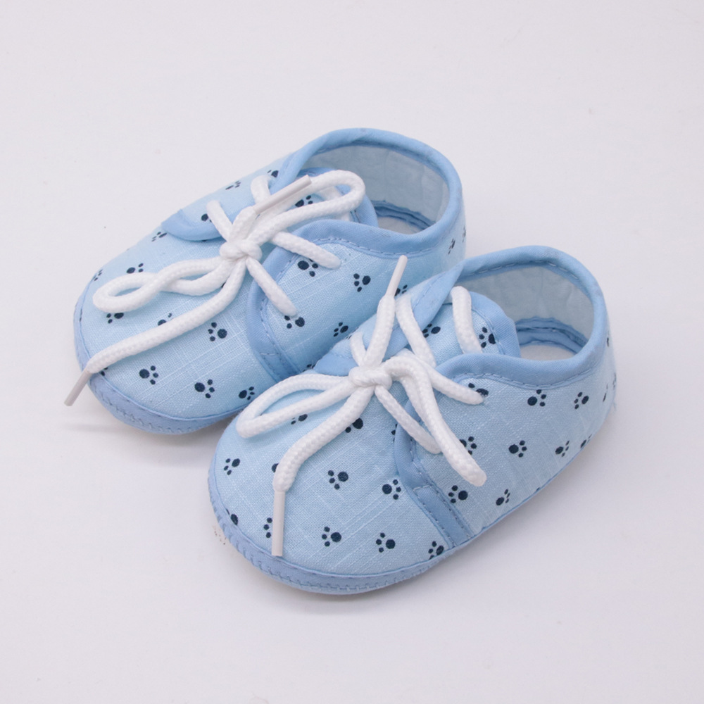 New Soft Baby Baby Shoes Boys and Girls Toddler Shoes Fashion Bow Slip Breathable