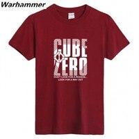 Cube Zero 100 Combed Man S T Shirt Top Tee O Neck Short Sleeve Big Yard