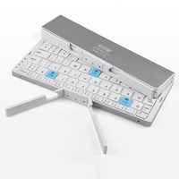 NEW Mini keyboard portable folding bluetooth Wireless charging keyboard for IOS and android Tablet PC Mobile phone