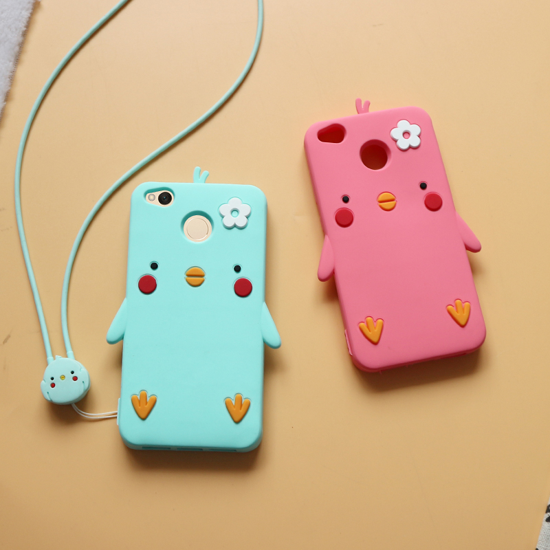 Cute For Xiaomi redmi 4x note4 note 4x soft silicone phone