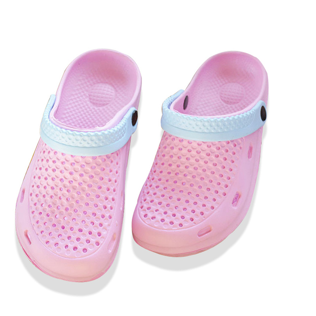 5bbc5115f Summer Kind Used Empty Shoes Ventilation Waterproof Jelly Shoes Plastic  Sandalias Mujer Plataforma Women Beach Shoes