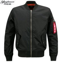2017 Autumn Air Force One jackets mens causal brand Embroidery business Amry bomber jacket polo  mens Jackets