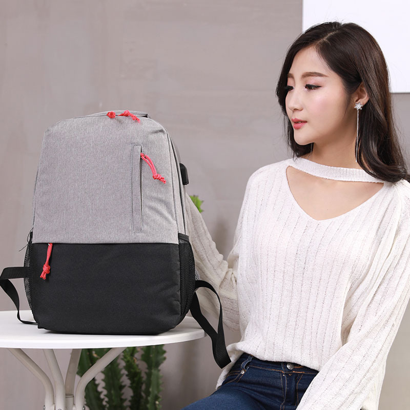 New QE35-42 Casual Leaves Printing Pattern Female Shoulder Back Bag Fashion Classic Women Laptop Backpack Girls Schoolbag