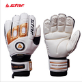 Brand star mens professional goalkeeper gloves match game goalie gloves cool PU&Letax soccer goalie gloves on sale