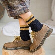 Womens Socks 2019 Winter Thick Wool Warm  Korean Style Women Girl Student Casual Fashion Harajuku