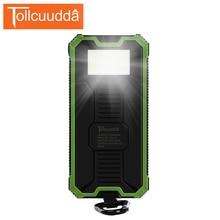 Tollcuudda Cargador de Teléfono Portátil Cargador de Batería de Energía Solar Banco Pover Para IPhone6 Xiaomi Powerbank Externa de la Caja Móvil de la Energía