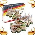 Новое Поступление Подарок Замок Hohenzollern 3D Головоломки Модель Строительство DIY Украшения Дома Развивающие Игрушки Для Взрослых Головоломки