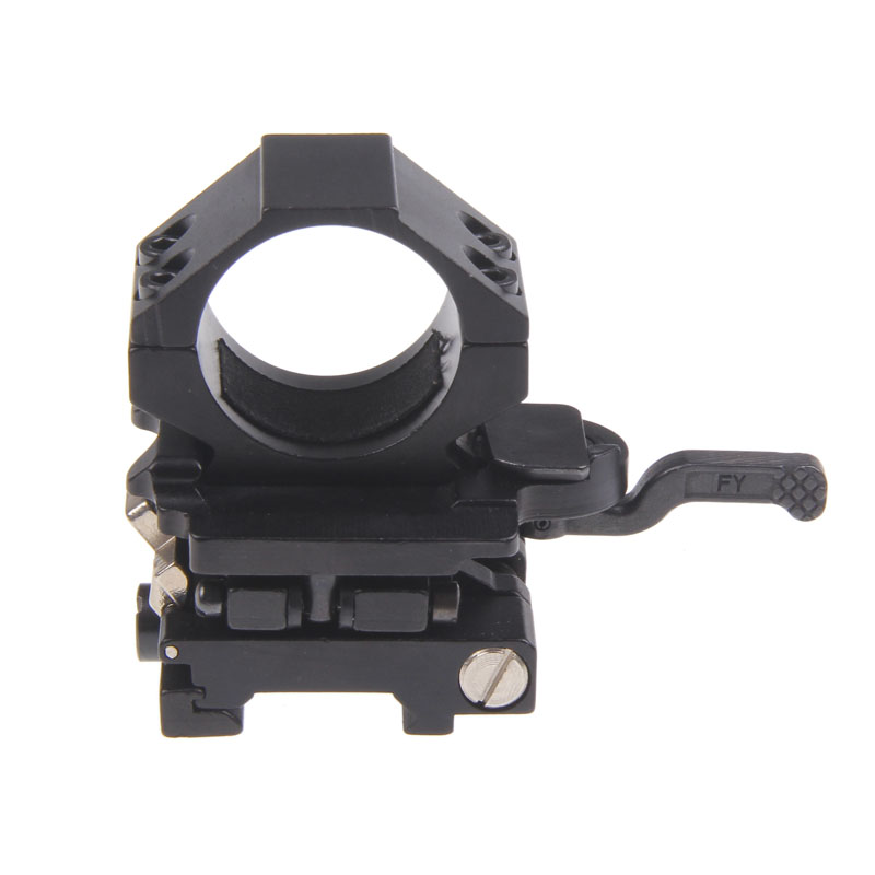 Funpowerland For Magnifier Scope High Strength FTS (Flip To Side) QD Mount
