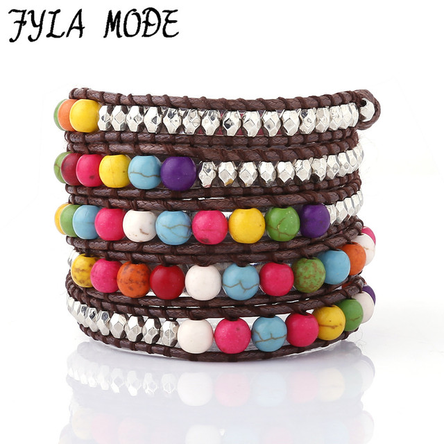 large colorful studded image beach bracelet bracelets for entry