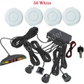 free shipping Auto Parking Sensor with LED Display monitor sensors radar reverse 4 car detector 44 Colors for option 12V