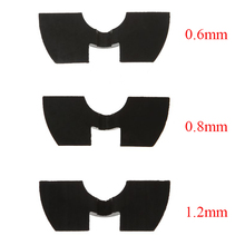 Avoid Damping Rubber Pad For XIAOMI M365 Pro Electric Scooter Modified Parts Front Fork Vibration Shake Folding Cushion 3 PCS electric motor scooter modified front fork 27 core inverted front shock modified motorcycle accessories