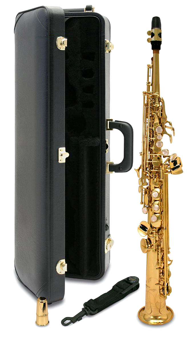 Japan Saxophone Soprano Yss 82z BB Flat Top Sax gold Straight saxofone Musical instrument professional mouthpieces Accessories new soprano saxophone b flat playing professionally yss 475 soprano musical instruments soprano sax professional free shipping