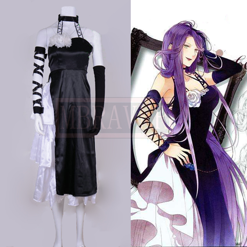 Diabolik Lovers Cordelia Cosplay Costume Custom Made Free Shipping