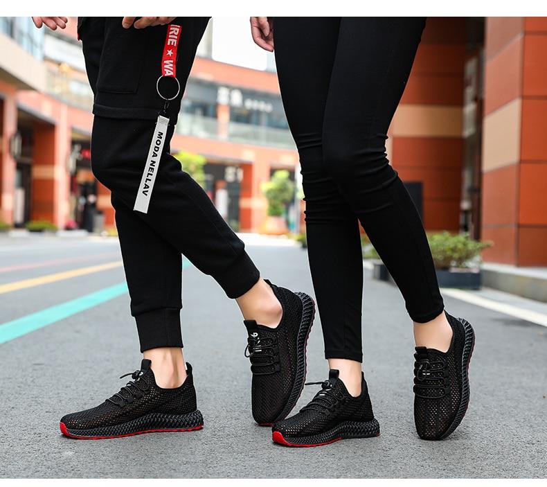 2019 Hollowing out Mesh Women Fashion Sneakers Men Sport Casual Shoes Flat Flying Knitting Women Trainers Men's Shoes XU025 (1 (16)