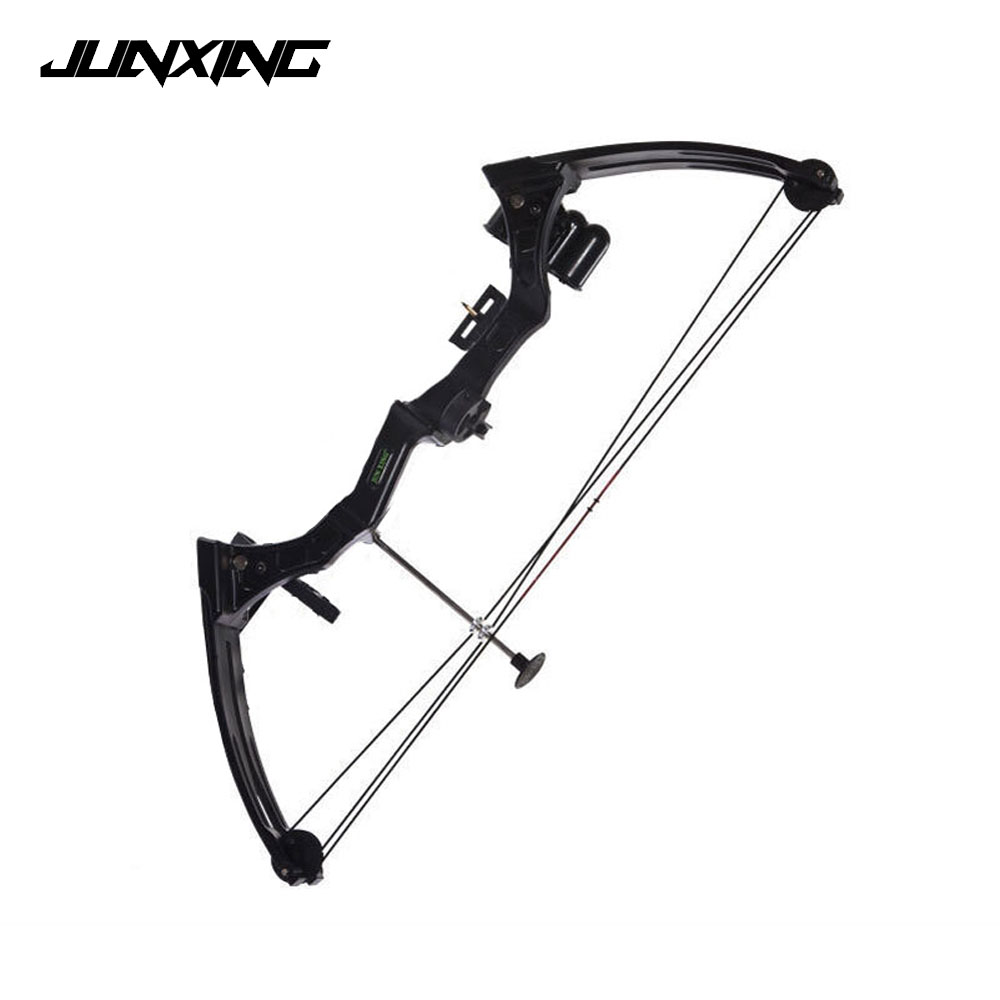 20 Pounds Compound Bow in Black/Camo Children Compound Bow for Competition Practice Outdoor Archery Hunting Shooting 32 inch archery children shooting bow safe of 12 lbs compound bow for kids competition sports games training youth beginner bow
