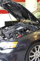 Pour Subaru Legacy BP BL 2003-2009 2x capot avant capot modifier les entretoises à gaz Support de levage amortisseur