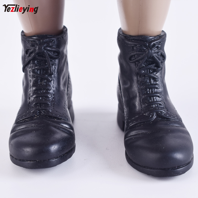 1 6 Scale Male Tactical Leather Shoes Boots Spot Germany Toys No Feet Model F 12 Inch Soldier Action Figure Military Accessories in Action Toy Figures from Toys Hobbies