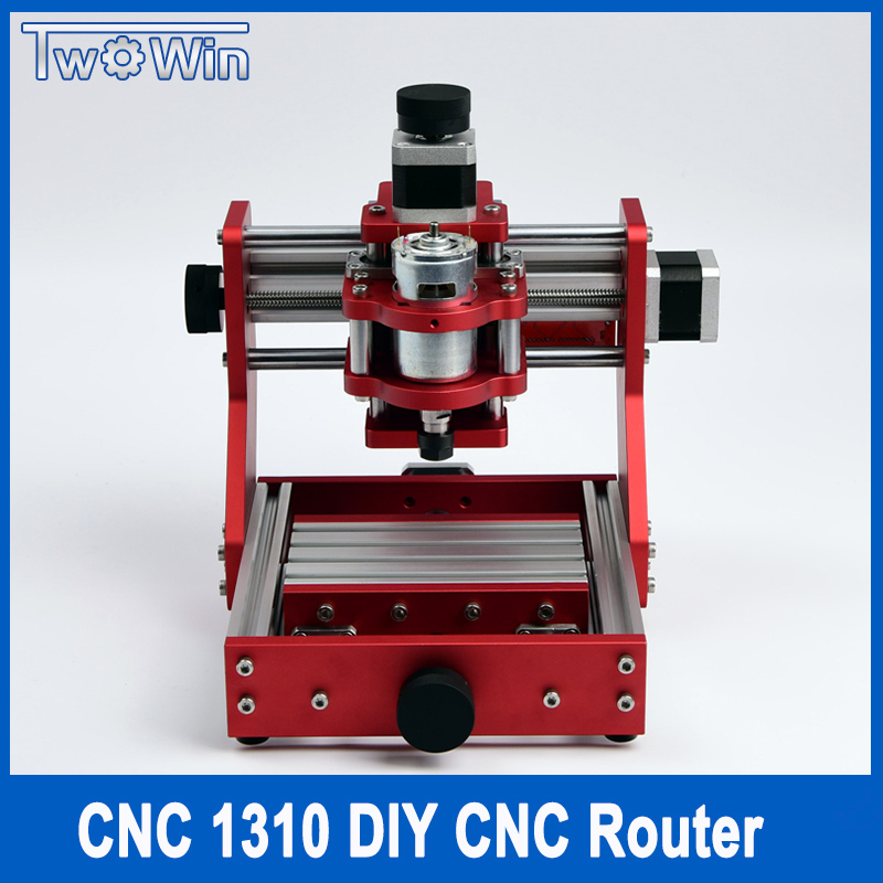 CNC 1310 Metal Engraving Cutting Machine Mini PCB Aluminum Copper Engraving Machine Working Area 126mm*88mm*38mm With Grbl