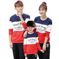 Mon Dad Daughter Family Costumes Boy Girl Kid Clothing Father Son Mother Matching Clothes Print Long Sleeves Shirt Family Look