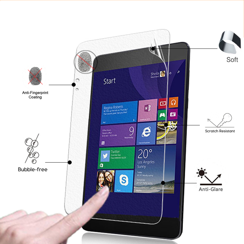 Glorious Premium Anti-glare Screen Protector Matte Films For Asus Transformer Book T90 Chi 8.9 Inch Front Matte Protective Films To Clear Out Annoyance And Quench Thirst Tablet Accessories