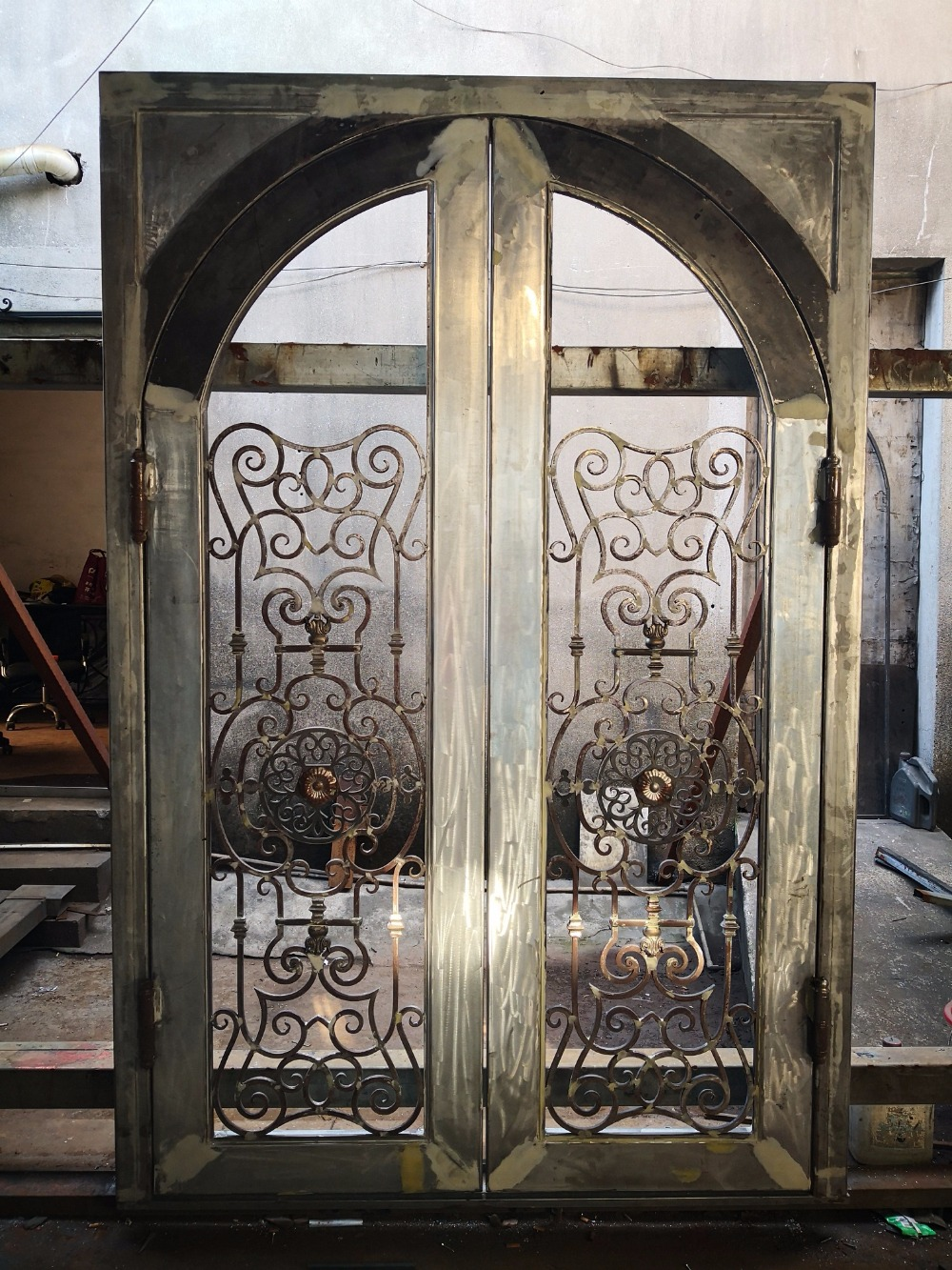 Abby Iron Doors Wrought Iron Door Security
