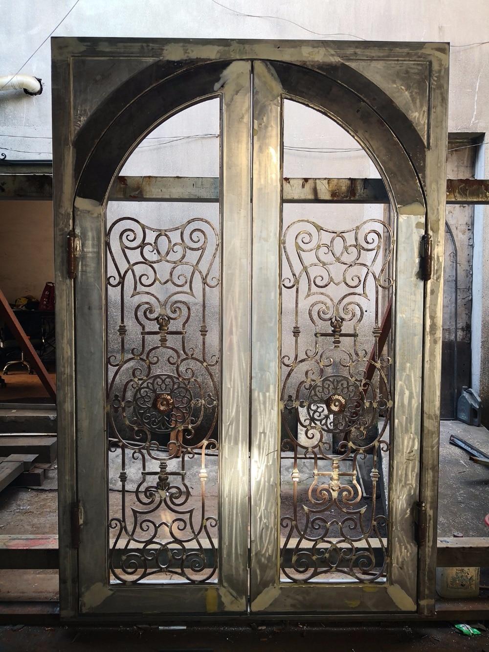 Abby Iron Doors Wrought Iron Door Security