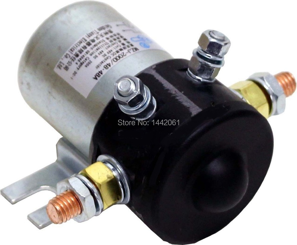 small resolution of ez go golf cart part 36 volt heavy duty 200 amp continuous 800 amp peak solenoid
