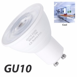 GU10 LED 220V Light 7W gu 10 led Spotlight Bulb GU5.3 MR16 Corn Lamp Spot Light 2835SMD Lampka LED Bulb 5W Ampoule Energy Saving