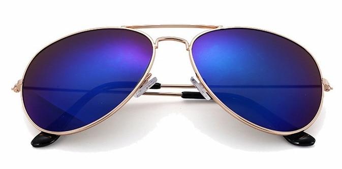 3d4ee95271e Dropwow Luxury Pilot Sunglasses Women Men Brand Designer Reflective ...