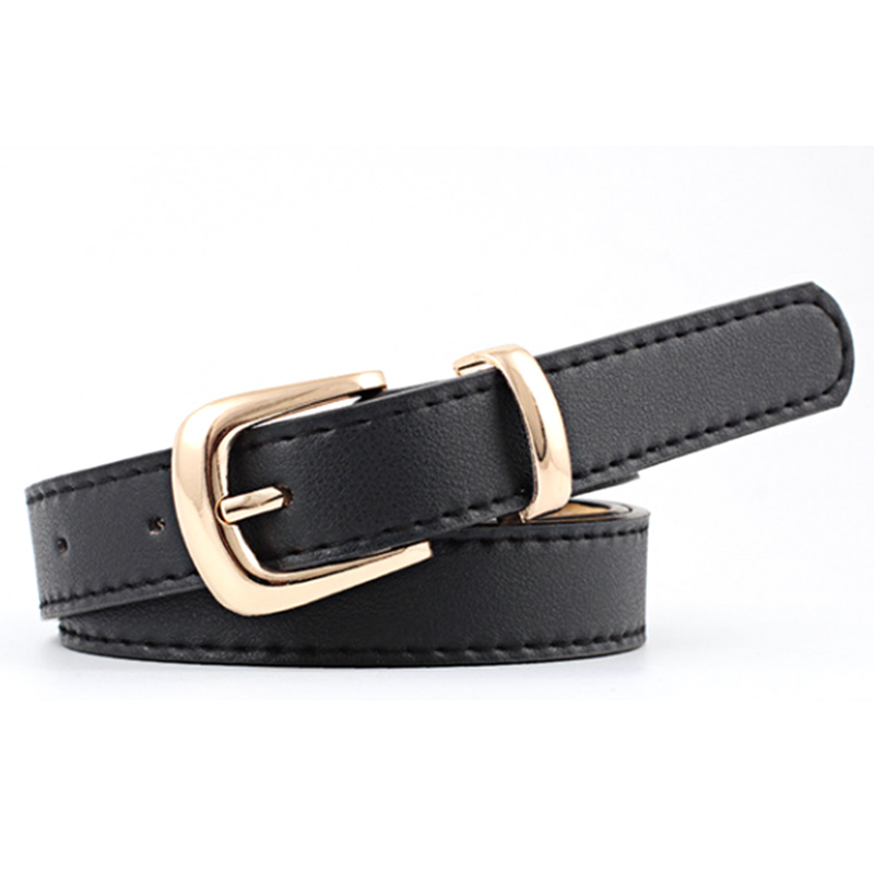 Zebery 105 Cm Lange Pu Leder Frauen Gürtel Metall Schnalle Einfache Mode Gürtel Für Frauen Kleidung Zubehör