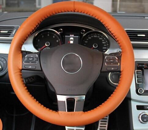 Tianshifu bil rattkåpa Real Genuine Leather god kvalitet universal - Bil interiör tillbehör - Foto 2