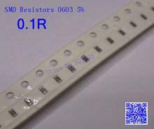 Chip Resistors 0603 0.1 ohm 0.1R 5% SMD Resistors 1/10W 500PCS/LOT