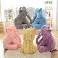 Juguetes del Elefante de peluche Almohada Manta de Bebé Para Dormir Comodidad Cojín Muñecas Para Niños
